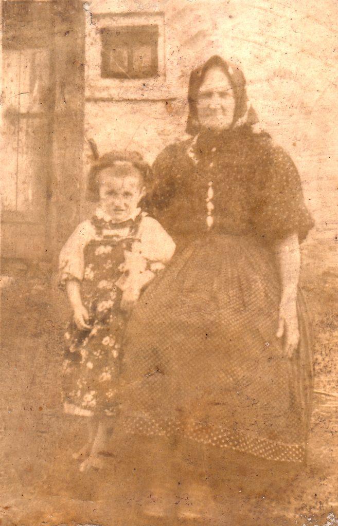 1905 Szabó Sára, első baptista Krasznán