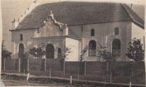 Régi imaház oldalról